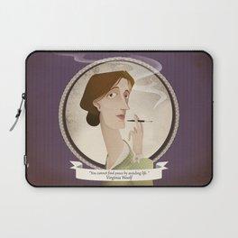 Virginia Woolf  said... Laptop Sleeve