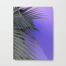 Indigo Nature Metal Print