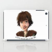 hiccup iPad Cases featuring A little Hiccup goes a long way by Fla'Fla'