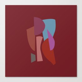 Ode | Old Red 3 Canvas Print