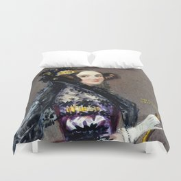 Portrait of Ada Lovelace by Alfred Edward Chalon Duvet Cover