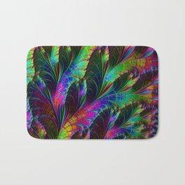 Rainbow Leaves Bath Mat