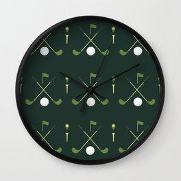 TGIF: Thank Golf It's Friday Wall Clock