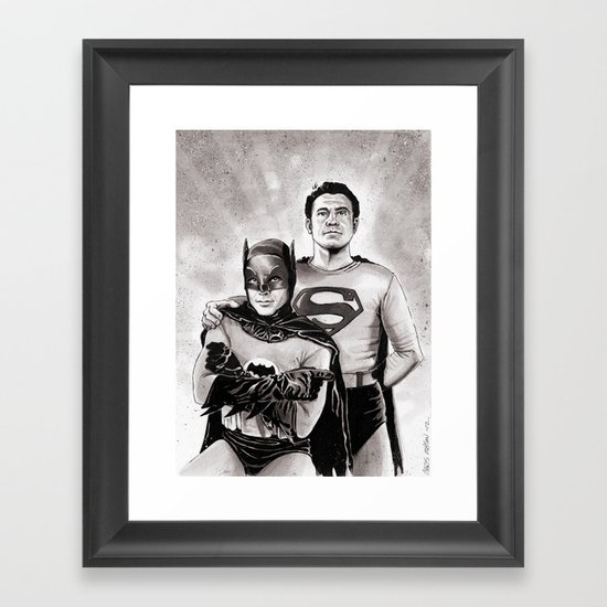 WORLD'S FINEST Framed Art Print