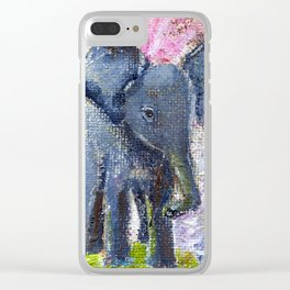 Funny Ears Clear iPhone Case