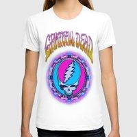grateful dead T-shirts featuring Grateful Dead #11 Optical Illusion Psychedelic Design by CAP Artwork & Design