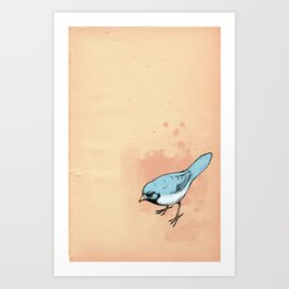 Sing terribly Art Print