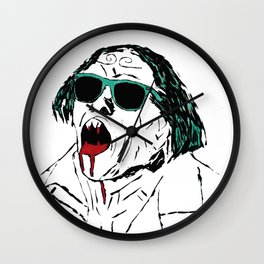 cool vampire Wall Clock