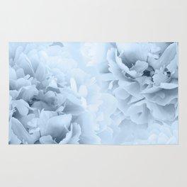 Light Blue Peonies Dream #1 #floral #decor #art #society6 Rug