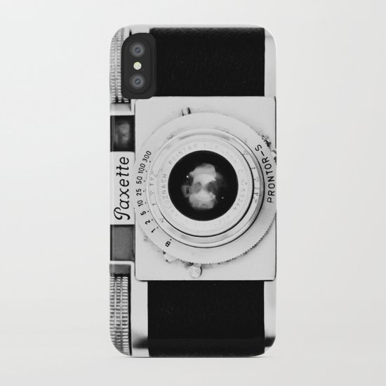 Paxette vintage camera iPhone Case