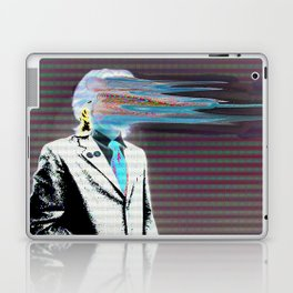 NO ONE AROUND HERE HAS THE GUTS INVERT Laptop & iPad Skin