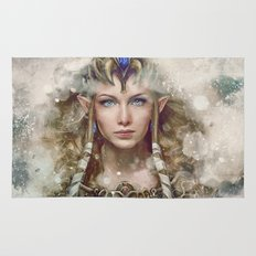 Epic Princess Zelda from Legend of Zelda Painting Rug