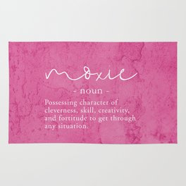 Moxie Definition - Pink Texture Wall Rug