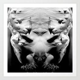 symmetry \\ #DEMON Art Print