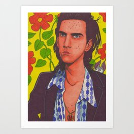 Spotty Nick Art Print
