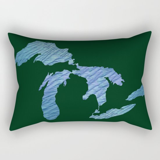 Great Lakes Rectangular Pillow