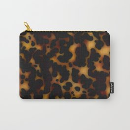 tortoiseshell tortoise shell  Carry-All Pouch