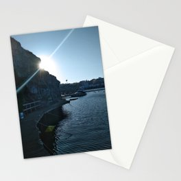 A walk towards the sun Stationery Cards