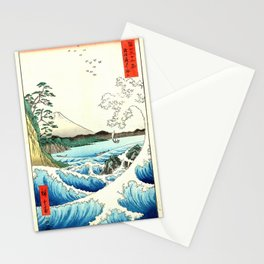 The Great Wave. The Sea At Satta Stationery Cards