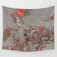soul Wall Tapestries featuring nature soul by Maethawee Chiraphong
