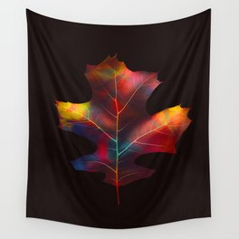 Rainbow Leaf Wall Tapestry