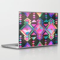 dream catcher Laptop & iPad Skins featuring Dream Catcher by Schatzi Brown
