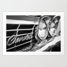 Chevrolet Emblem Photo Art Print