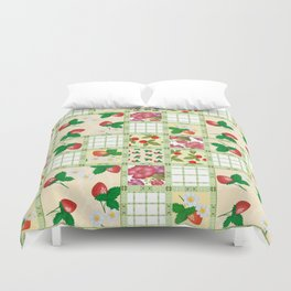 Colorful summer pacifrc. Duvet Cover