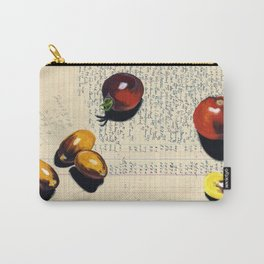 Heirloom Tomatoes in Gouache Carry-All Pouch