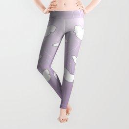 Butterflies | lilac color Leggings
