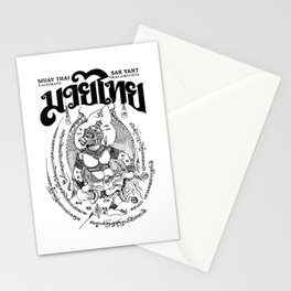Garuda Muay Thai Tattoo Stationery Cards