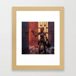 Sabine Framed Art Print