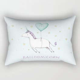 Balloonicorn Rectangular Pillow