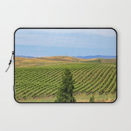 Wine Country Rows of Vines Laptop Sleeve