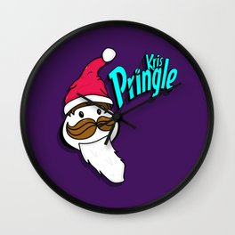 Kris Pringle Wall Clock