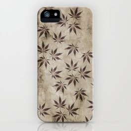 Marijuana Marble iPhone Case
