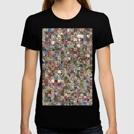 Colorful Quilt Pattern T-shirt
