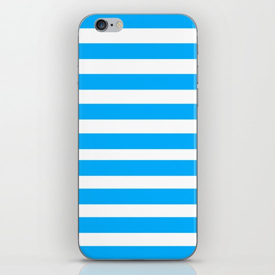 Blue Lines iPhone & iPod Skin