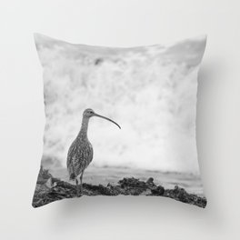 The Curlew Throw Pillow