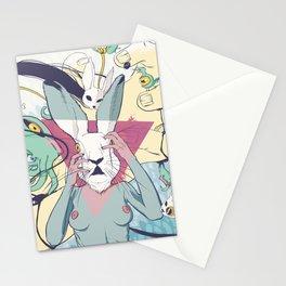 Rabbit Pelt Stationery Cards