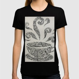 But first, Tea - tea coffee lover zentangle T-shirt