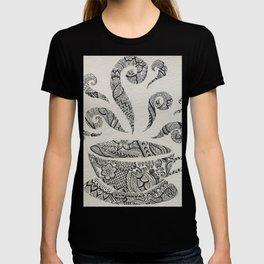 But first, Tea - tea coffee lover zentangle T-shirt