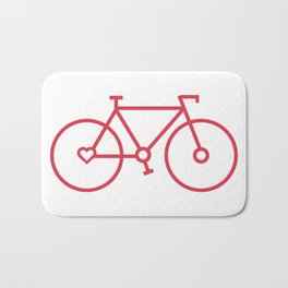Fixed Gear Love Bath Mat