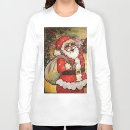 Santa's In Town Long Sleeve T-shirt