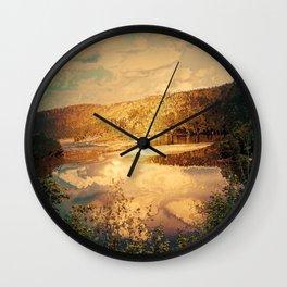 landscape Austria 07,romantic effect Wall Clock