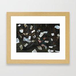 into the forgotten Framed Art Print