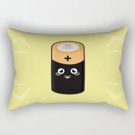 Kawaii battery Rectangular Pillow