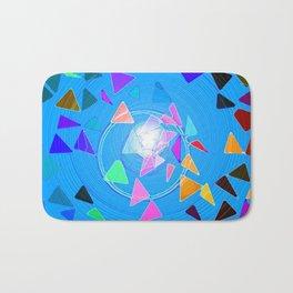 Pythagoras Swirl  Bath Mat
