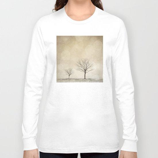 Snow Bokeh Wonderland  Long Sleeve T-shirt
