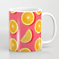 fruit Mugs featuring  FRUIT by mark ashkenazi